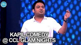 Comedy King Kapil Sharma make Fun with Stars @CCL Glam Nights