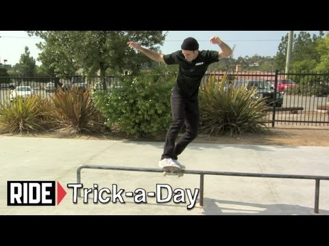 How-To Skateboarding: Frontside Board Slide with J.T. Aultz - Trick-a-Day
