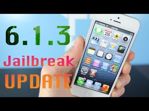 NEW 6.1.3 & 6.1.4 Untethered Jailbreak Update - Don't Lose Your Jailbreak!