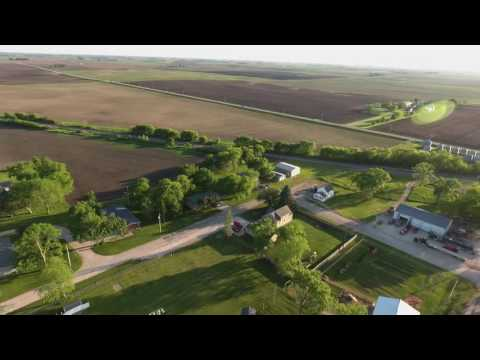 Gilmore City/Bradgate, Iowa drone flight
