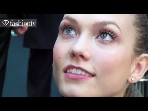 Karlie Kloss & Arizona Muse Backstage At Elie Saab - Spring 2012 Paris Couture Fw | Fashiontv - Ftv video