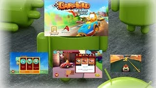 Garfield Kart para android (apk y datos sd)