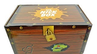 The Nick Box Fall 2017 Treasure and Treats Subscription Box Unboxing Review