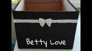 Betty Box How to make a box