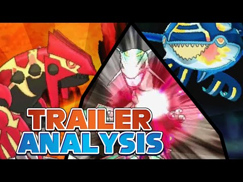 Rayquaza Confirmed Trailer Analysis | Pokémon Omega Ruby and Alpha Sapphire!
