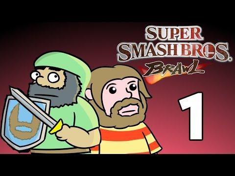 Super Beard Bros. - Super Smash Bros. Brawl #1 - Subspace-in