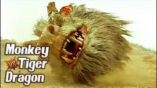 Download MONKEY vs. TIGER vs. DRAGON: THE MONKEY KING 2 Chinese Fantasy Movie 3Gp Mp4