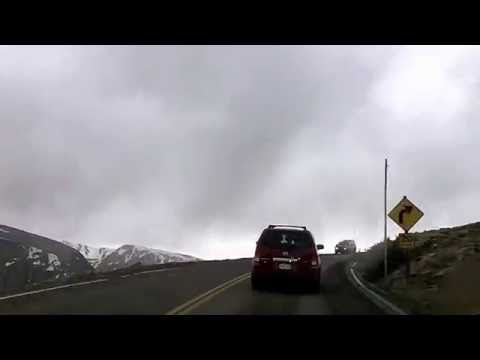 Trail Ridge Road, Rocky Mountain National Park Time Lapse Drive