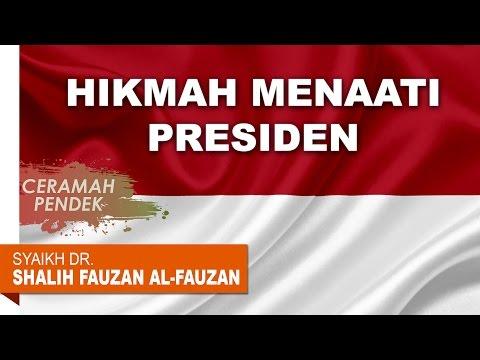 Ceramah Pendek: Hikmah Wajibnya Taat Kepada Pemimpin - Oleh Syaikh Dr. Shalih Fauzan al-Fauzan