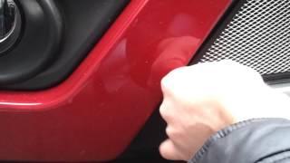 Видео: Установка защиты радиатора Suzuki Grand vitara 2012 хром