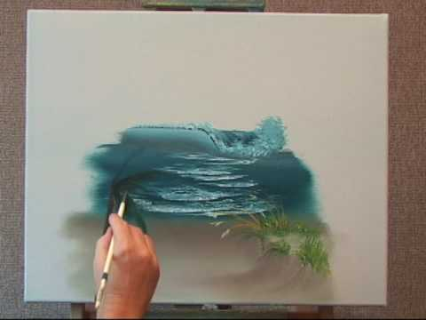 How To Shade With Acrylic Paint On Canvas