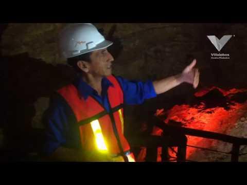 Exploración de mina en Taxco, Guerrero.