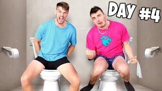 Last To Leave Toilet Wins $1,000,000 - Challenge (Part 3)