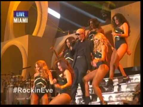 Pitbull Don't Stop The Party Live New Year's Eve 2014 video