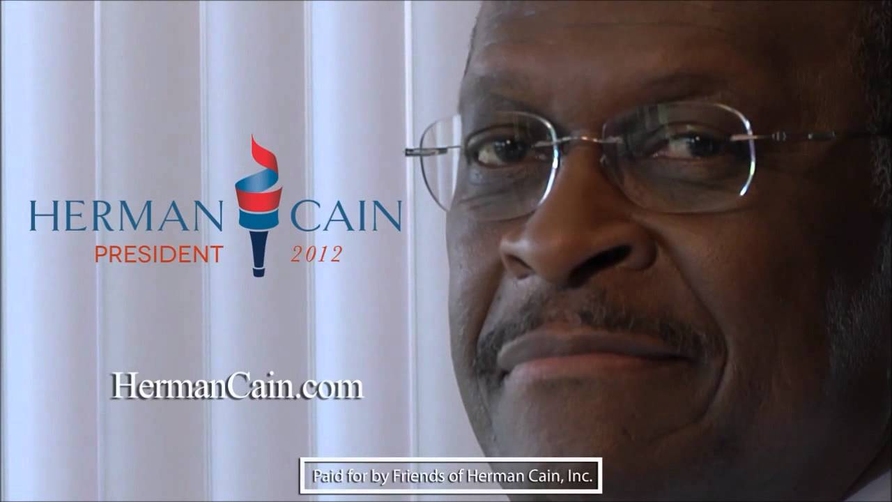 Creepy Smile Meaning Herman Cain's Creepy Smile in