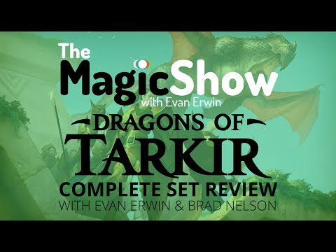 Dragons of Tarkir Complete Set Review - Green/Dromoka!