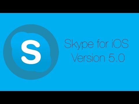 New Skype for iOS Version 5.0 Update: Review And Tutorial (June, 2014)