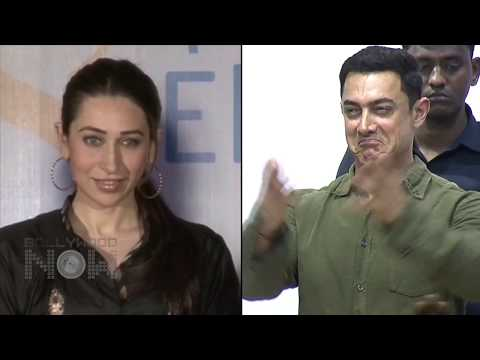 BOLLYWOODs HOT SMOOCHES | Karisma Kapoor & Aamir Khan In RAJA...