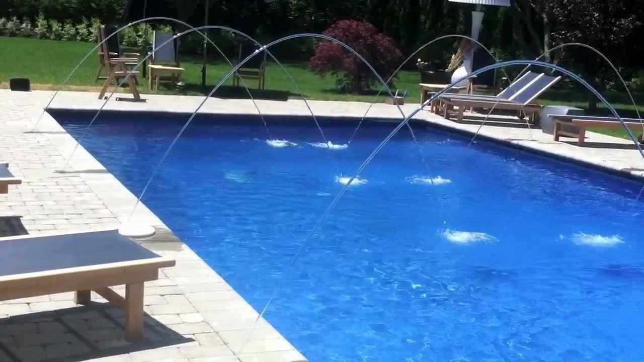 Watermill bridgehampton patrick 39 s pools builder pentair for Pool jets design