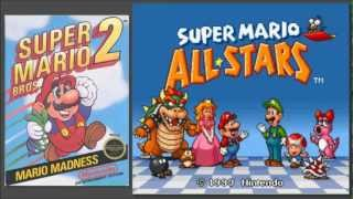 SPECIAL: Super Mario Bros. 2 All★Stars SNES [OST] Game Over