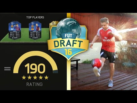 FIFA 16 - WINNING THE DRAFT WITH A 190