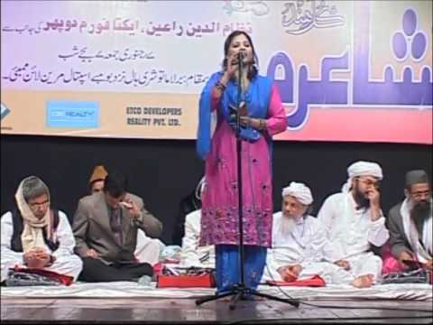 All India Mushaira  2011 Rana Tabassum Part 5.wmv video
