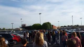 School Fire Evacuation Drill