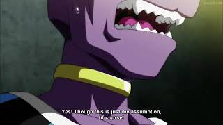 Every god of destruction shock after hear beerus say goku form is ultra instinct