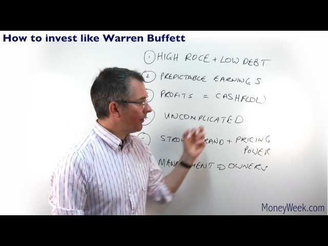 How to invest like Warren Buffett - MoneyWeek Investment Tutorials