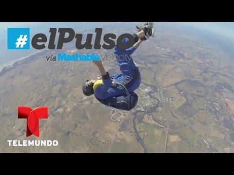 El Pulso   Un paracaidista se desmaya en caída y un tornado arrasa con todo   Telemundo