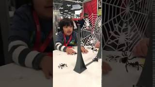 Ryan's Toy Review playing with spiders is amazing!!!