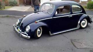 Classic lowered VW