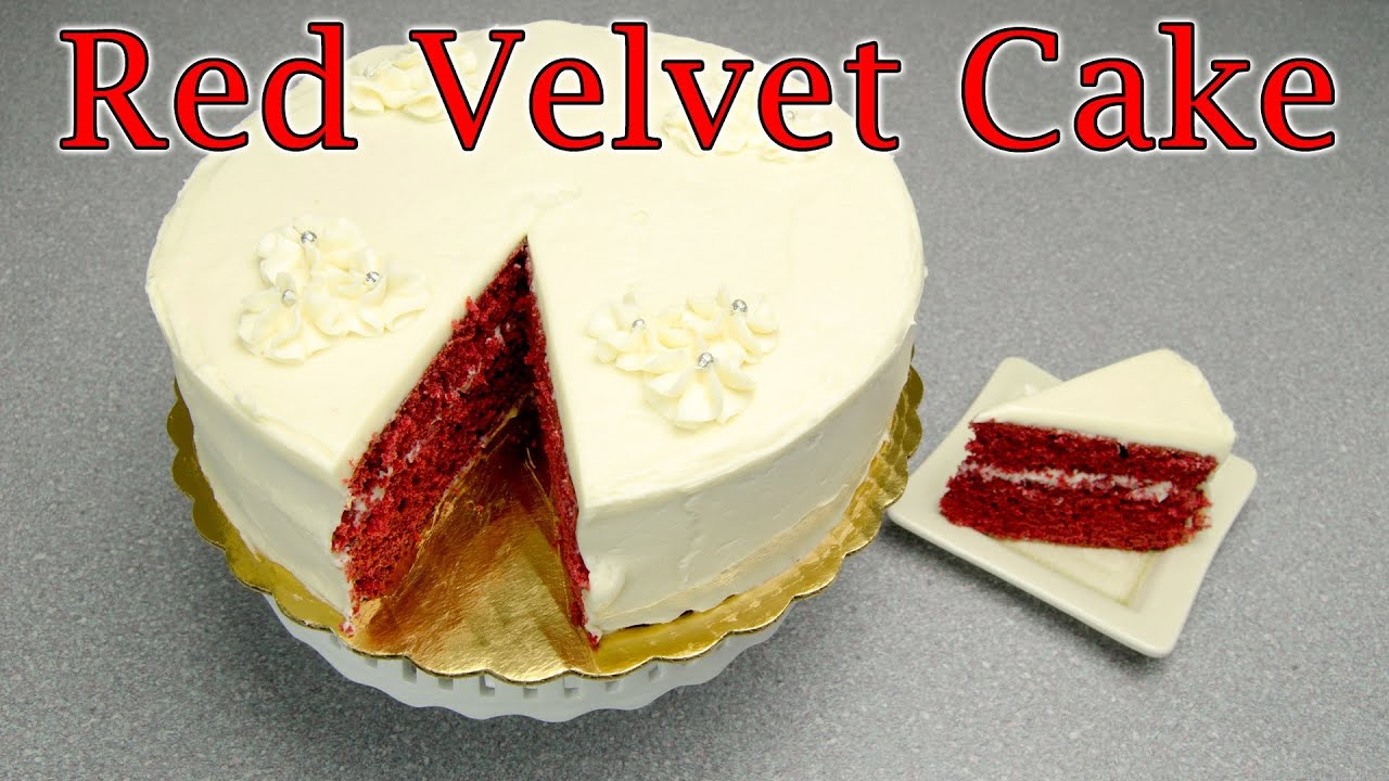 How to make red velvet cake red velvet cake recipe by for What are the ingredients for making cake