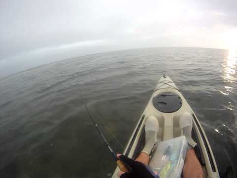 Yippee Kayak Fishing Sarasota, Florida for Speckled Trout