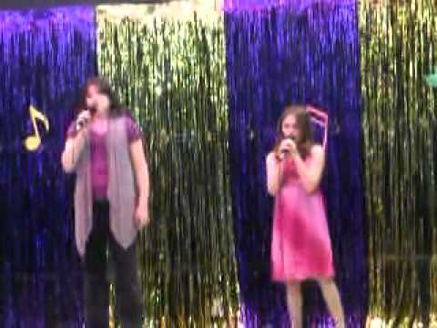 Alexandra Vachon 10 Yrs Old - Singing - Un Ange Qui Passe March 11, 2011
