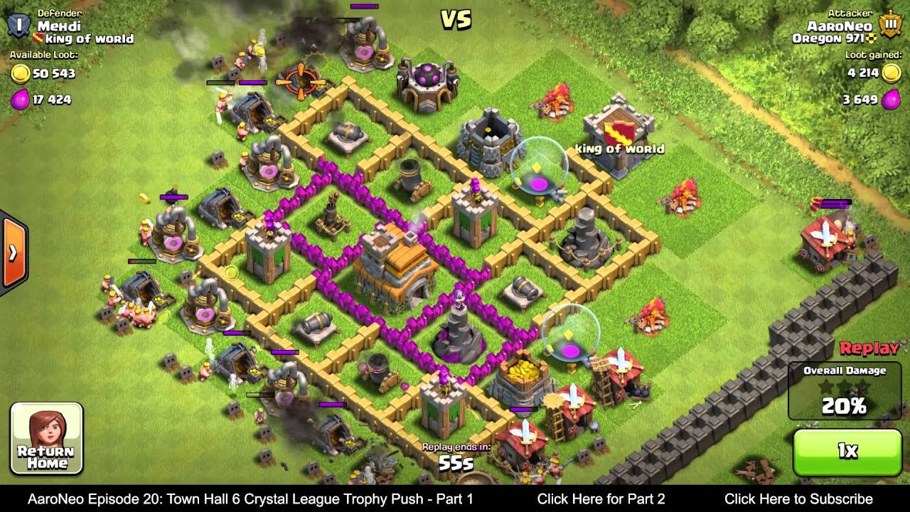 Clash of clans healer level 6