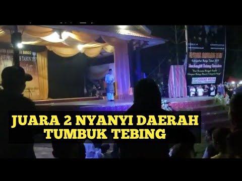 Lagu daerah jambi Tumbuk tebing festival baselang tauh mengangkat batang Teresa