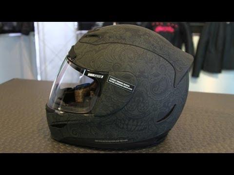 Icon Helmet Graphics Icon Airmada Chantilly Helmet