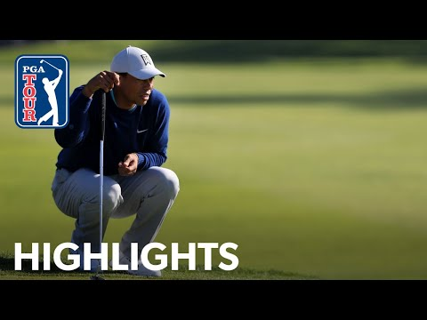 Tiger Woods shoots 3-under 69 | Round 3 | Farmers 2020