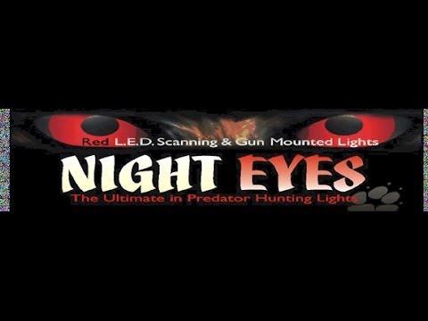 NIGHT EYES Headlamp varmint/hog hunting light review