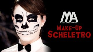 Make-up Scheletro | Come truccarsi per Halloween | Marta Make-up Artist