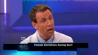 Female secretion during sex