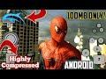 [100MB] PS3 The Amazing Spiderman Game Highly Compressed in Android | Hindi