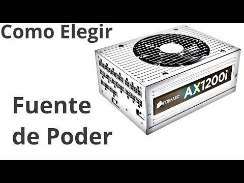 Tutorial Como Elegir la Fuente de Poder ATX para tu PC