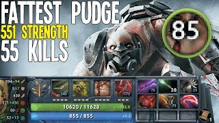 Fattest Pudge Ever 12k HP 55 Kills [Winner Results] | Dota 2 Silly Builds