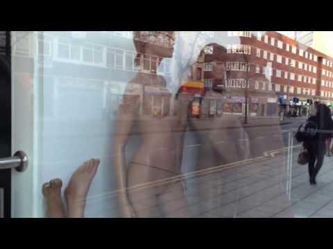 Naked Women in shop window?
