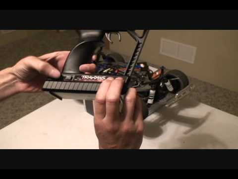 Reset Factory Settings Traxxas 2.4Ghz Radio System