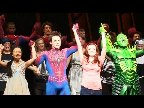 'Spider-Man' Opens on B'Way - New York Post