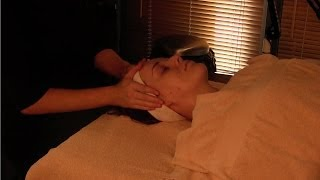 *ASMR* AVEDA facial video