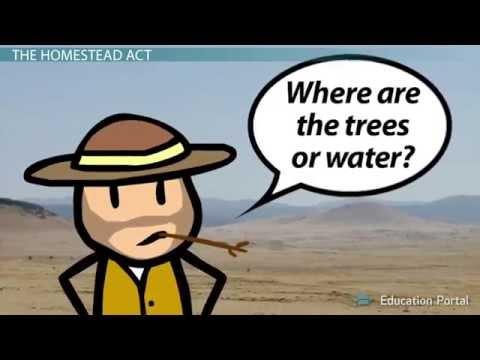 Westward Expansion: The Homestead Act of 1862 The Frontier Thesis